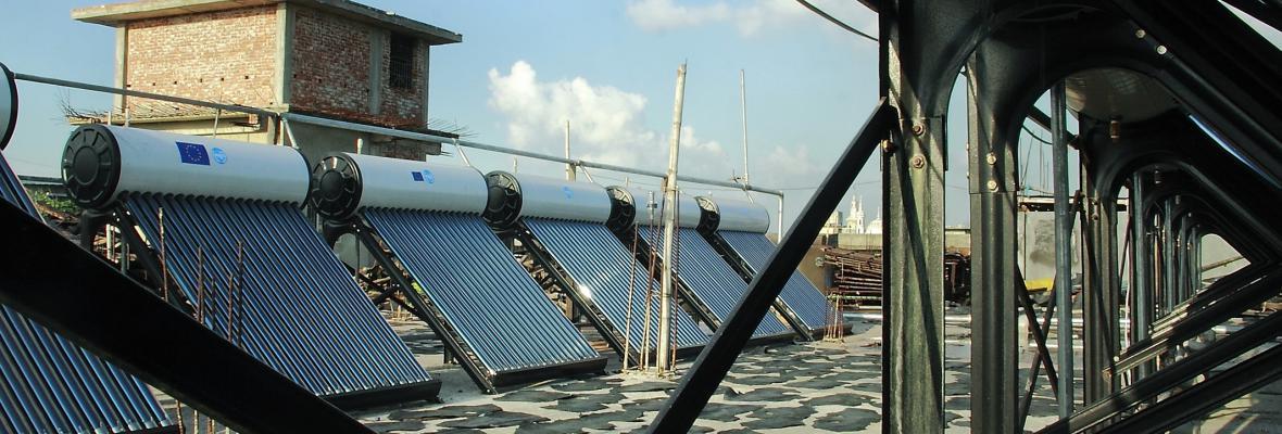 UNIDO Solar Water Heating - Ayuub Brothers, Hazaribagh, Dhaka, Bangladesh