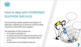 UNIDO on-line learning How to deal with hydrogen sulphide gas